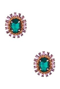 emerald-green-studded-earrings