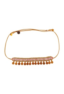 gold-finish-choker-with-beads-and-sequins