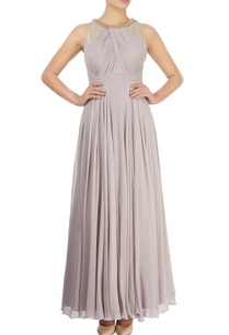 stone-grey-embellished-gown