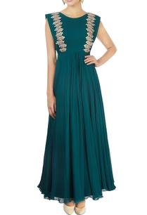 emerald-green-embellished-anarkali-gown
