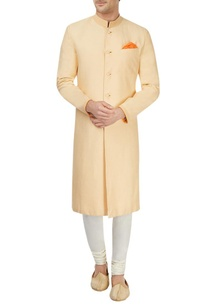 yellow-sherwani