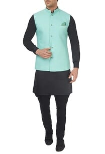 black-aqua-reversible-bandhi