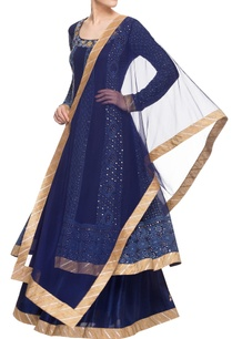 navy-blue-chikankari-skirt-set