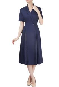 indigo-overlap-dress