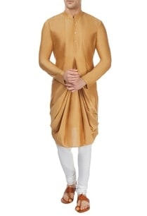brown-cowl-kurta