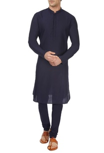 navy-blue-kurta-churidar
