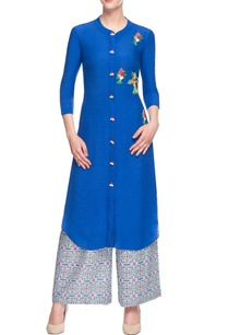 royal-blue-embroidered-palazzo-set