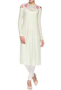 light-green-embroidered-kurta