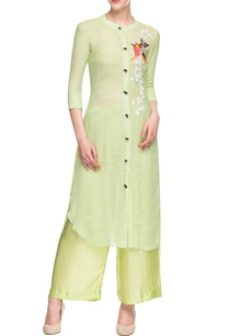 light-green-embroidered-palazzo-set