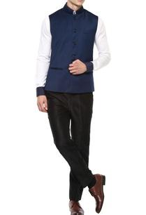blue-nehru-jacket