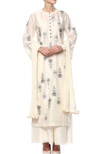 cream-kurta-set