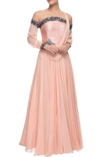 pastel-pink-embellished-gown