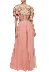 pastel-pink-tasseled-top-with-trousers