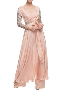 blush-pink-wrap-anarkali-trousers