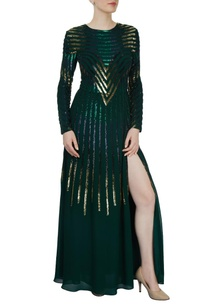 emerald-sequined-gown