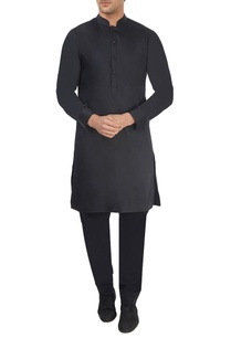 black-egyptian-cotton-kurta