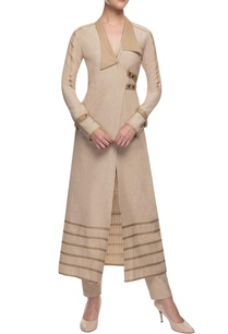 beige-wrap-jacket-trousers