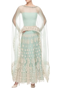 pastel-blue-embroidered-lehenga-set