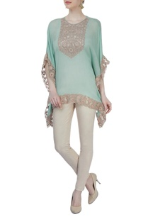 sea-green-embroidered-poncho
