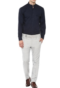 navy-blue-cotton-shirt