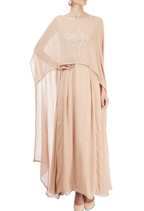 beige-cape-gown-with-embroidery