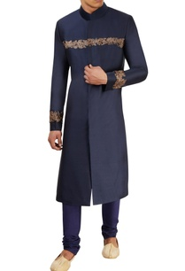midnight-blue-sherwani-set
