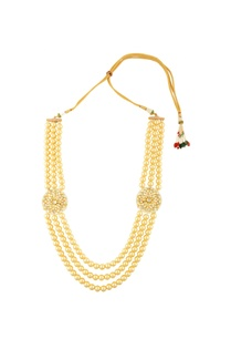 gold-finish-necklace-with-strands-of-pearls