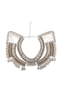 silver-double-layered-chain-necklace