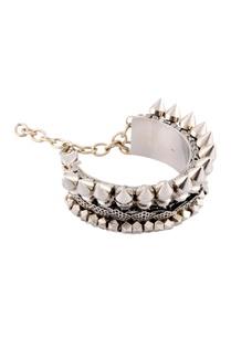 silver-studded-bracelet