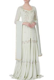 light-blue-mukaish-long-kurti-palazzo-set