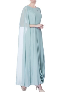 light-blue-draped-layer-kurta