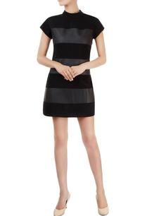 black-alternate-paneled-dress