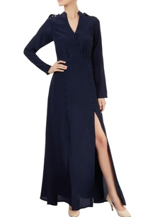 navy-blue-maxi-with-gathers-slits