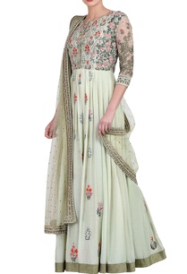 light-green-kurta-set