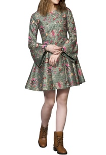 green-chintz-coat-dress