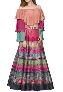 multi-colored-maxi-skirt