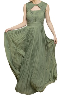 sage-green-pleated-gown