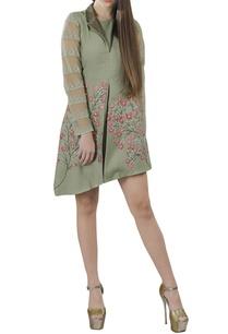 sage-green-embroidered-short-dress