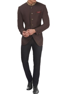 brown-embroidered-bandhgala-jacket