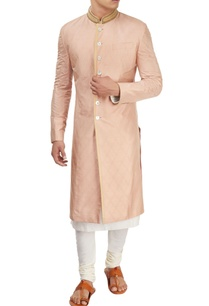 dusty-rose-sherwani-with-kurta-churidar