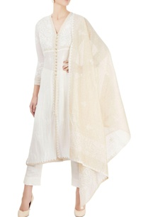 ivory-gold-kurta-set-with-chikankari-embroidery