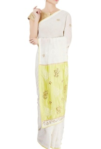 white-green-sari-with-chikankari-kamdani-work