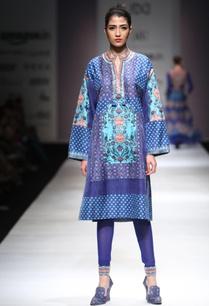 blue-printed-kurta-with-leggings
