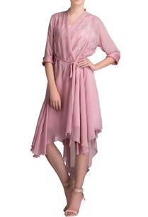 lilac-asymmetric-tunic-with-front-over-lap