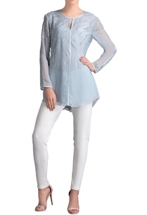 light-blue-silver-embellished-shirt