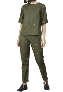 olive-paneled-shirt