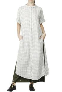 white-olive-loose-shirt