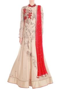 beige-red-embroidered-kaladana-set