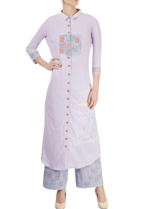 lavender-embroidered-kurta-with-palazzo-pants