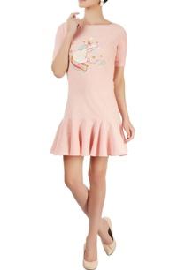 blush-pin-ruffled-short-dress